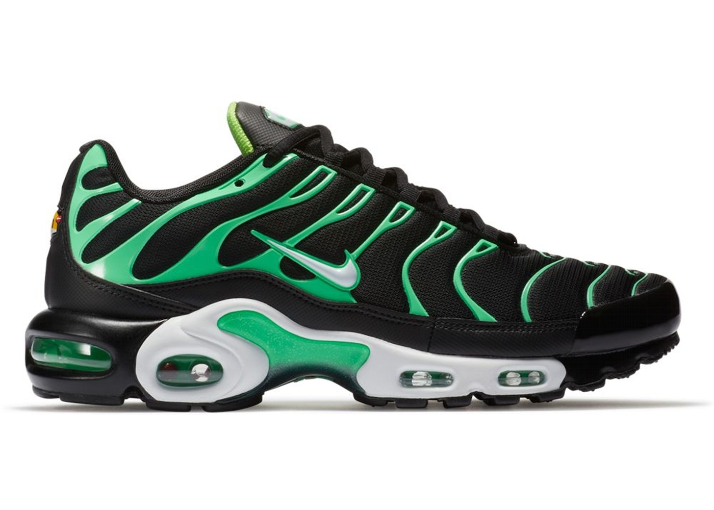 Air Max Plus Black Electric Green