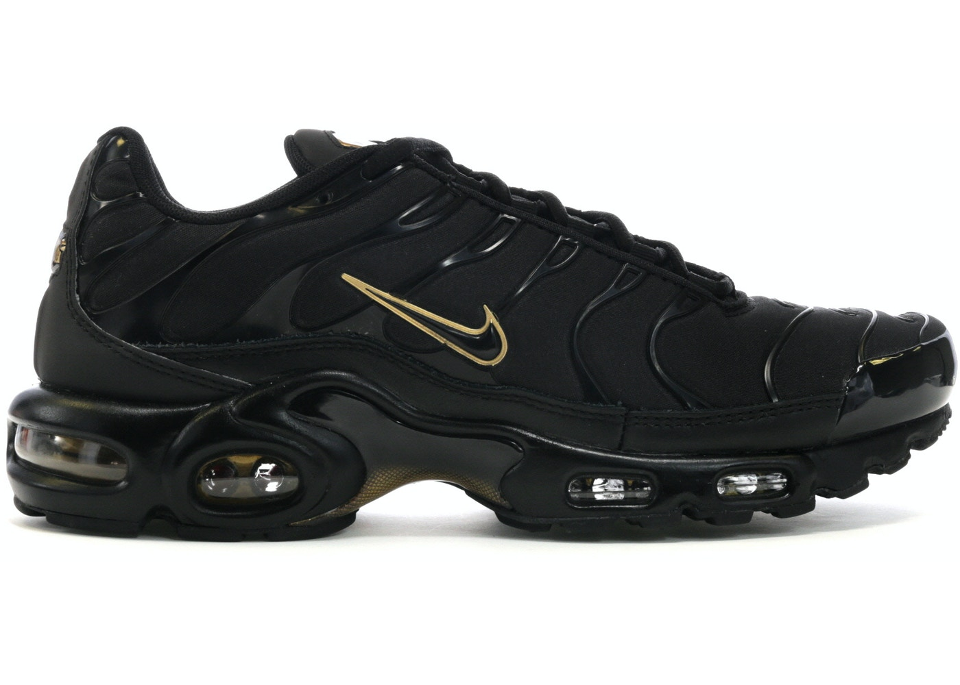 release date 4faf3 cbd38 Air Max Plus Black Metallic Gold - 852630-024