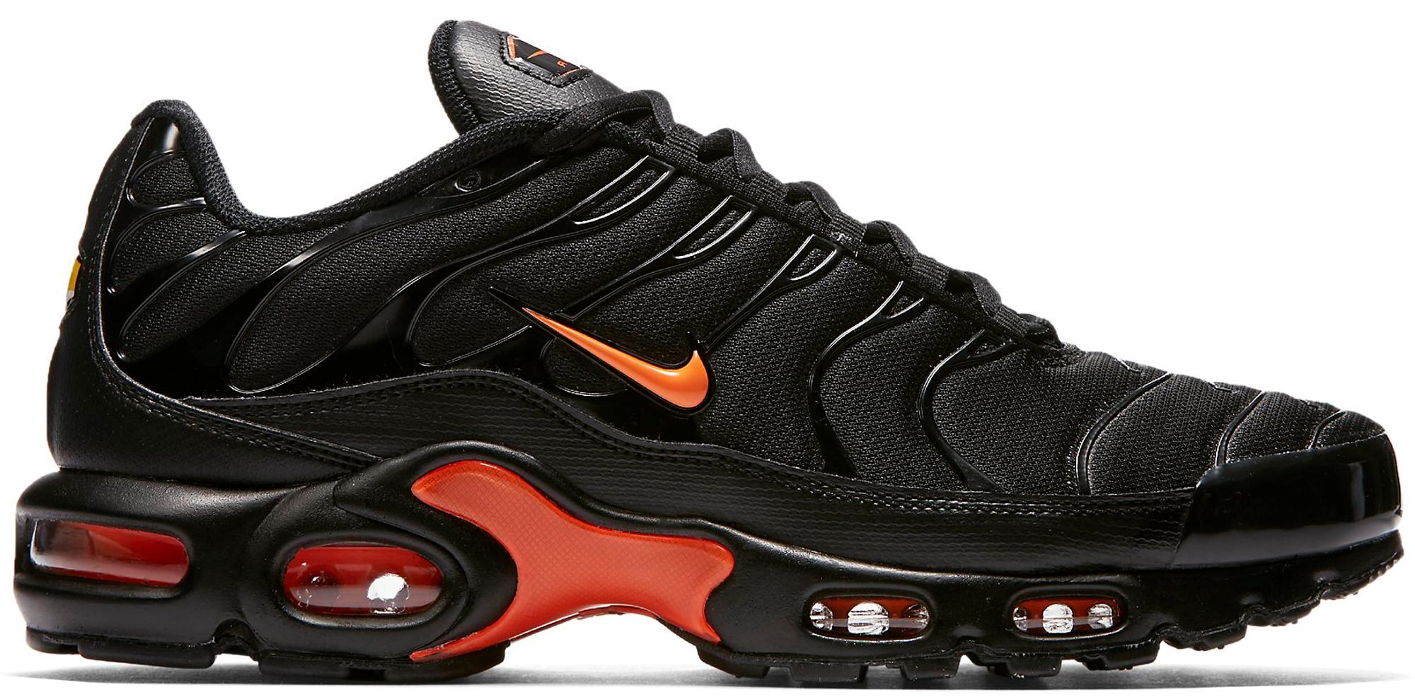 nike 95 black and orange