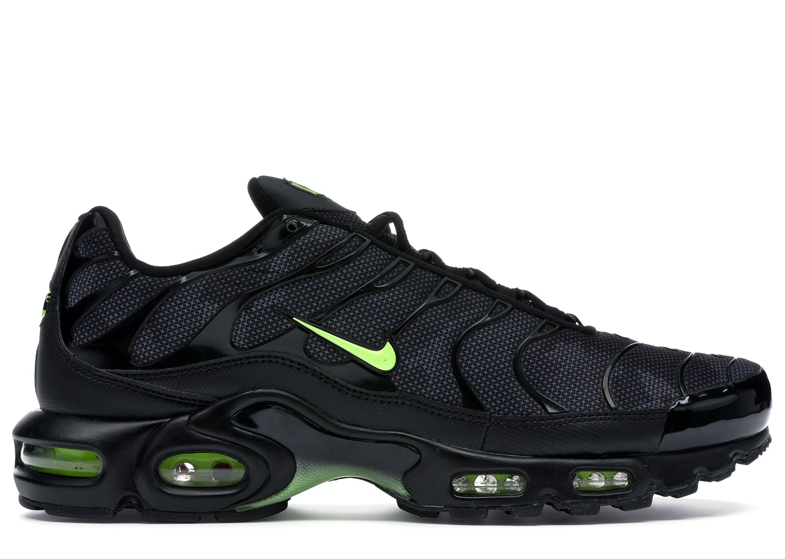 Air Max Plus Black Volt Glow