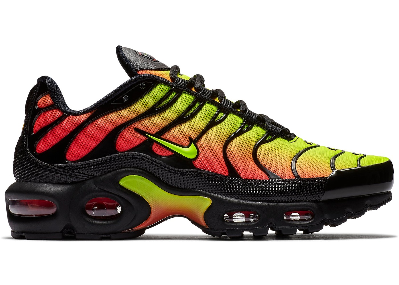 best service 924db 8766e air max plus black and red