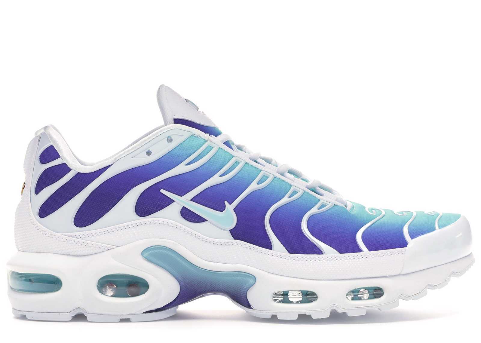 Nike Air Max Plus Bleached Aqua Fierce Purple (W) - AQ9979-100