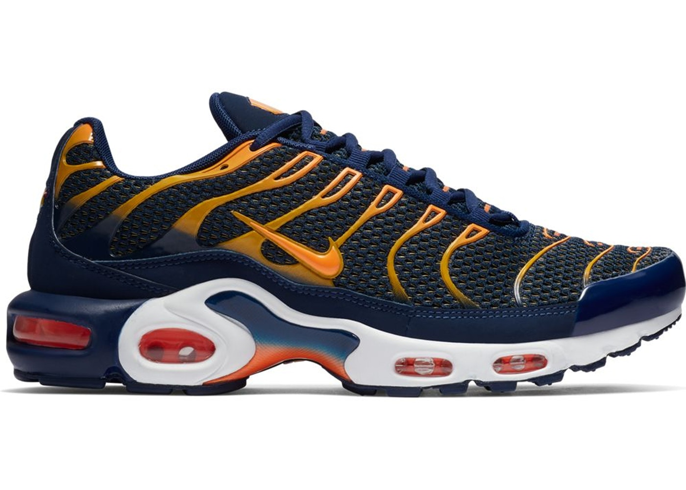 Nike Air Max Plus Blue Void University Gold 852630 408