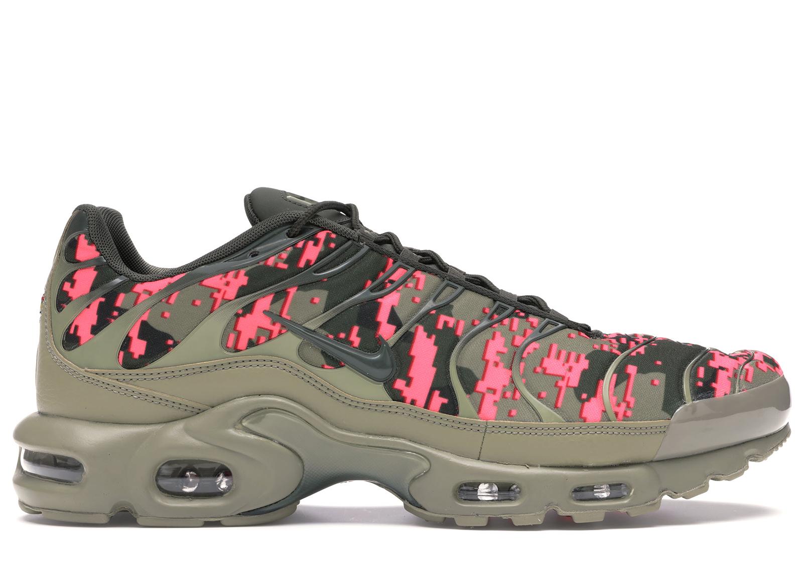 army green air max plus