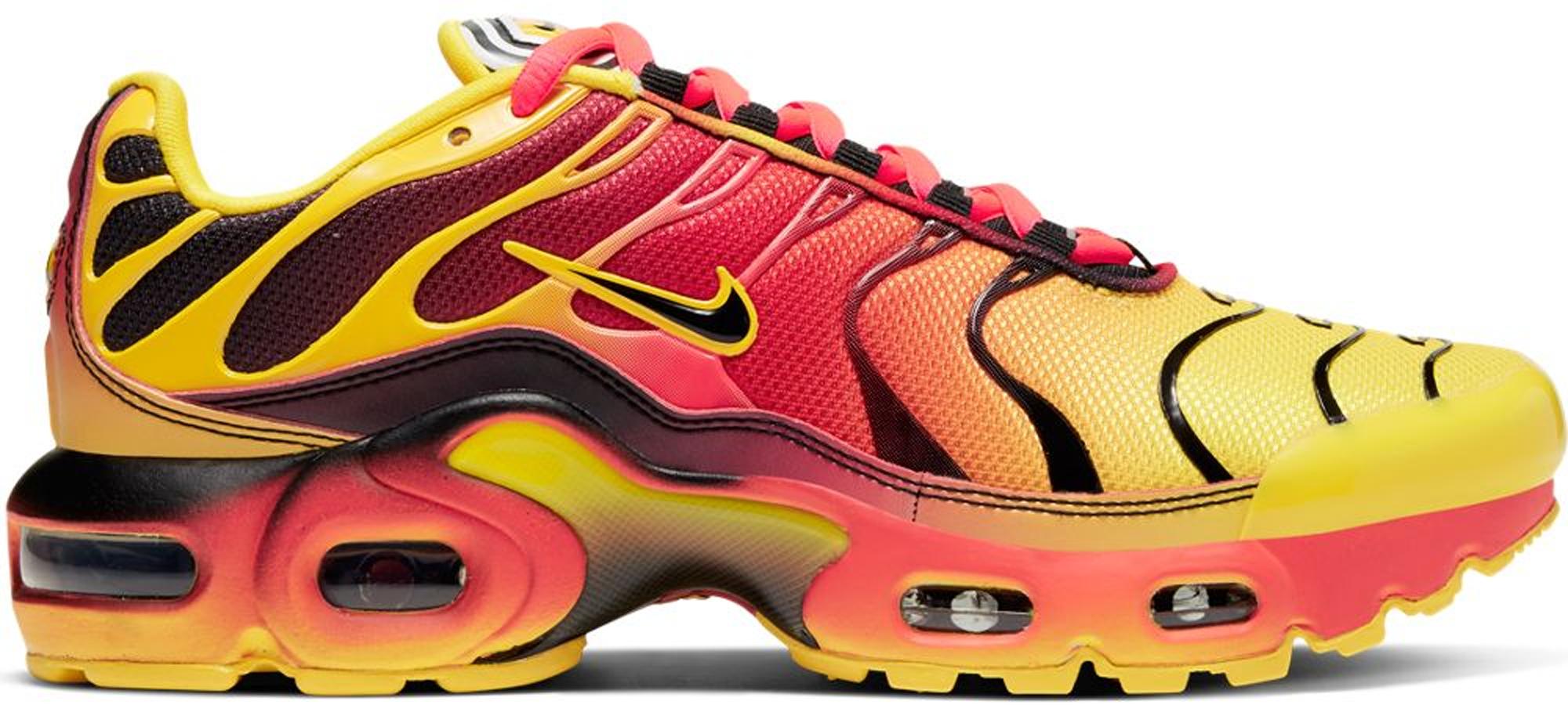 Nike Air Max Plus Fade Chrome Yellow