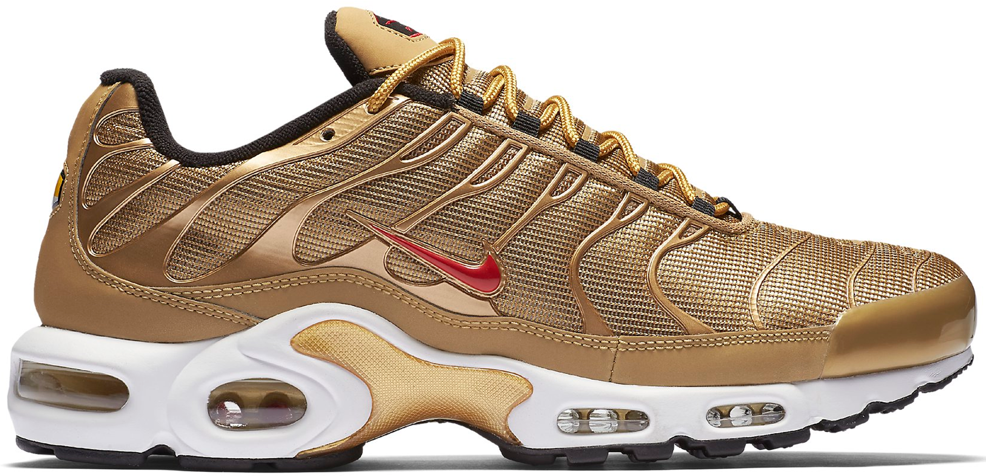 nike air max metallic gold