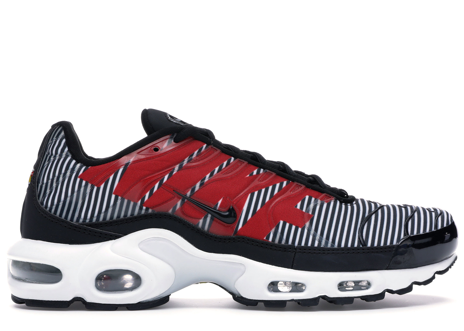 NIKE AIR MAX Plus TN SE AT0040 001 Black White Pure Platinum