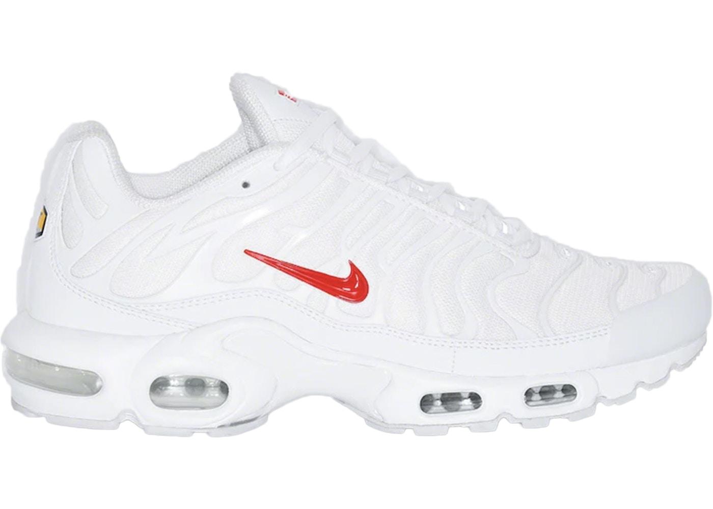 Pasto Desear línea  Nike Air Max Plus Supreme White - Sneakers