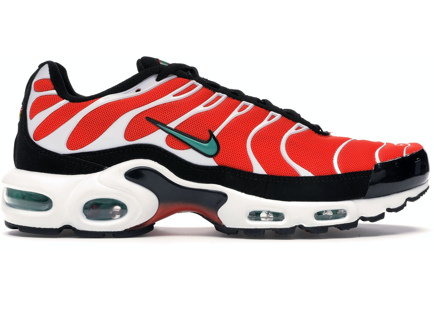 Nike Air Max Plus Team Orange Neptune Green 852630 801