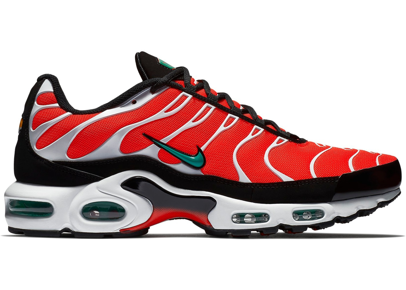 separation shoes b3453 508db Air Max Plus Team Orange Neptune Green