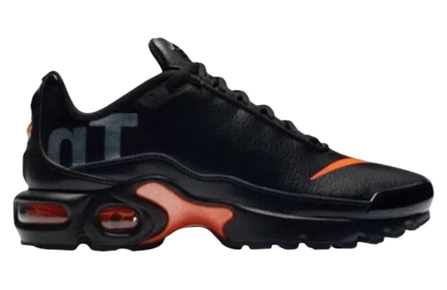 air max plus tn se black orange