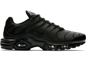 elegir despacho sitio oficial zapatos de separación Nike Air Max Plus Triple Black Leather - AJ2029-001