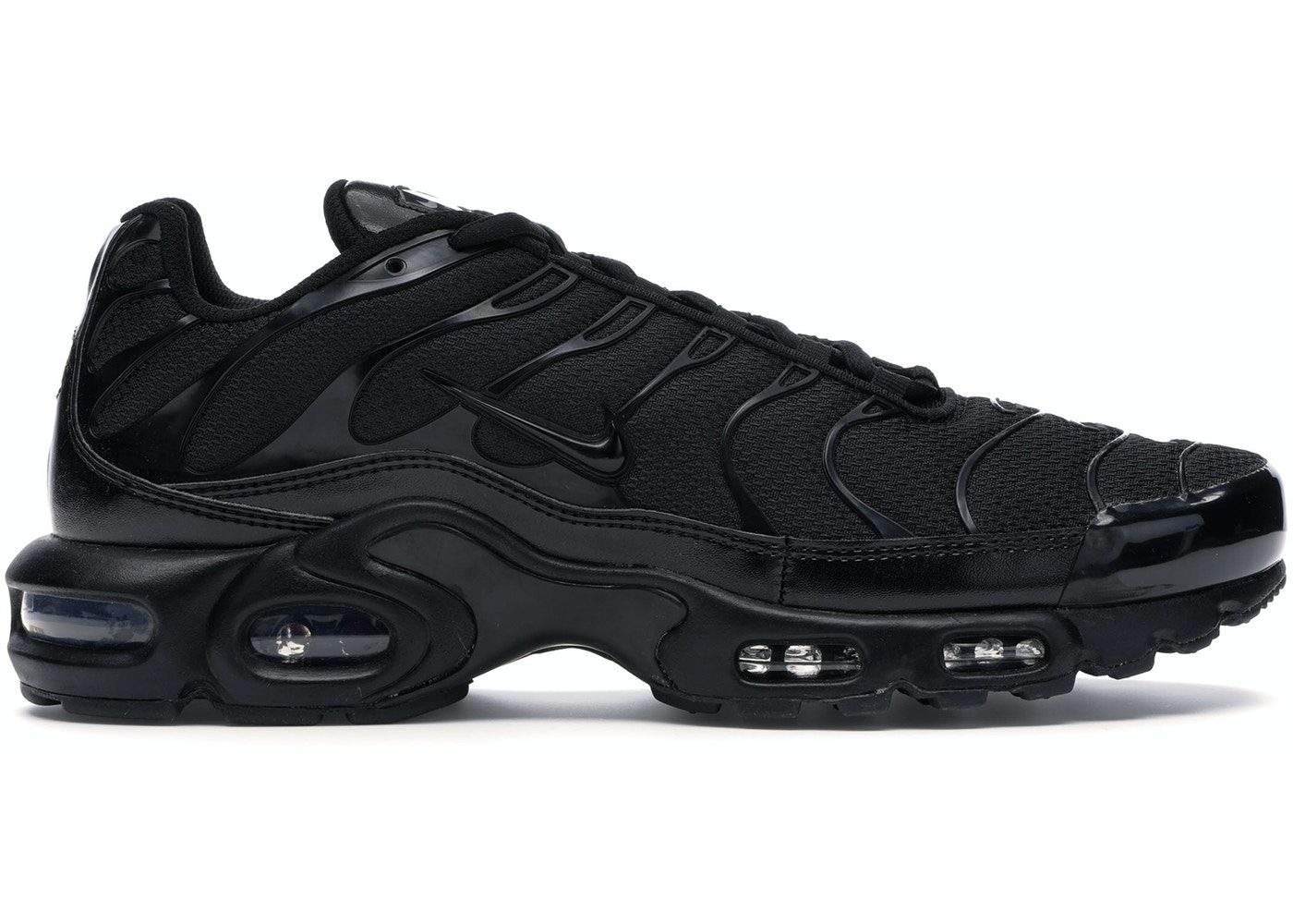 best website 700b5 fcbbd Air Max Plus Triple Black