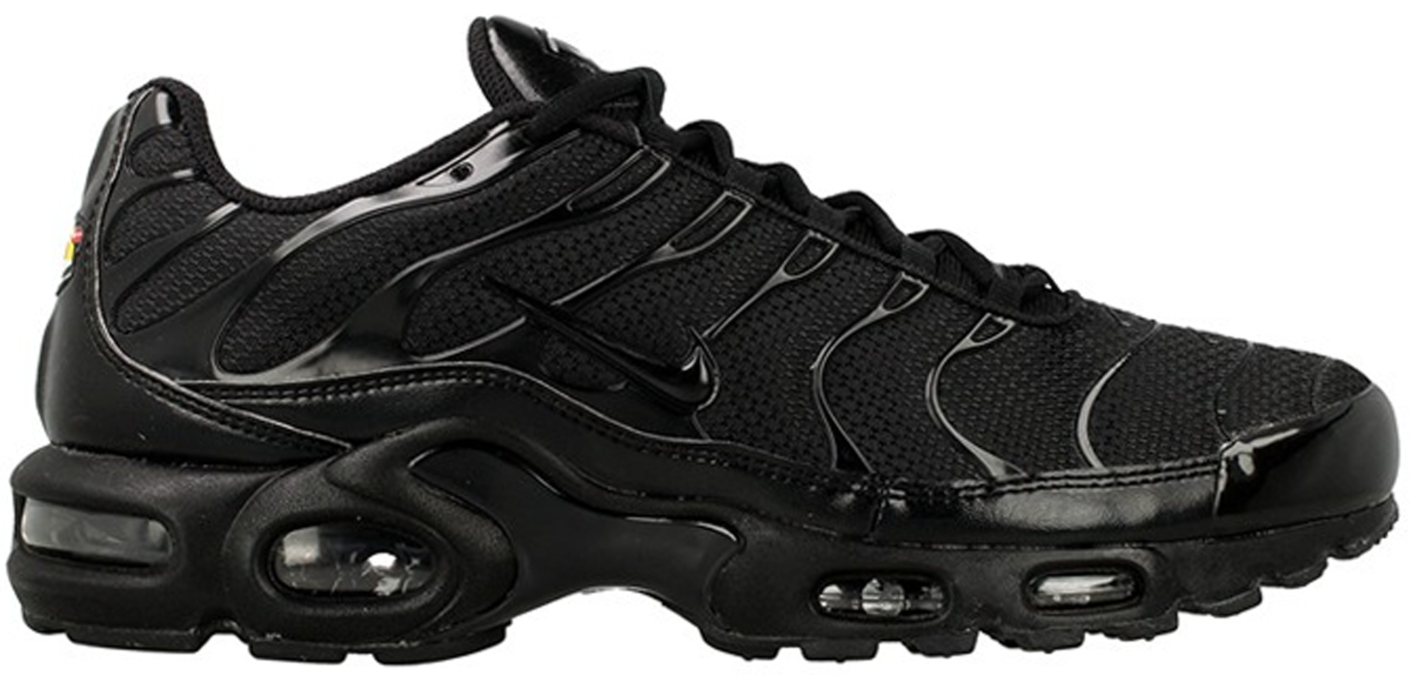 reputable site 85956 b14fc ... low cost air max plus triple black 604133 050 14871 87e4a
