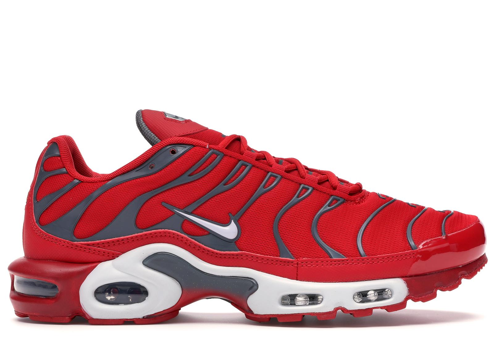 Nike Air Max Plus University Red Pure