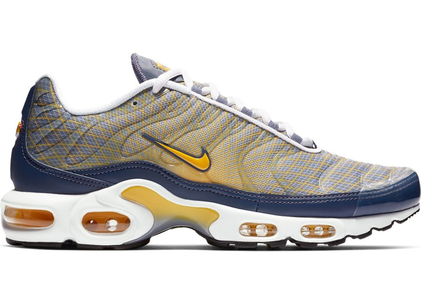 new product 48d09 621dc Air Max Plus Wave Grid Yellow