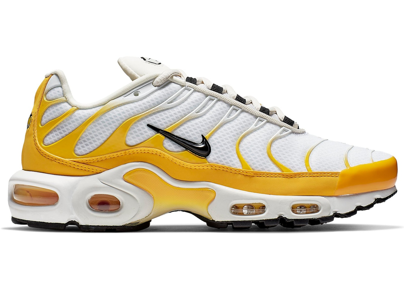 newest 3550f d66bf Air Max Plus SE White Yellow (W)