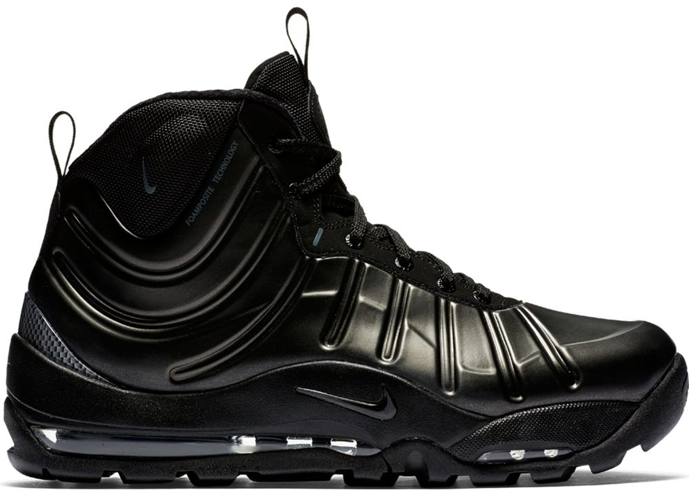 release date: 70440 efdce ... Air Max Posite Bakin Boot Triple Black (2017) ...