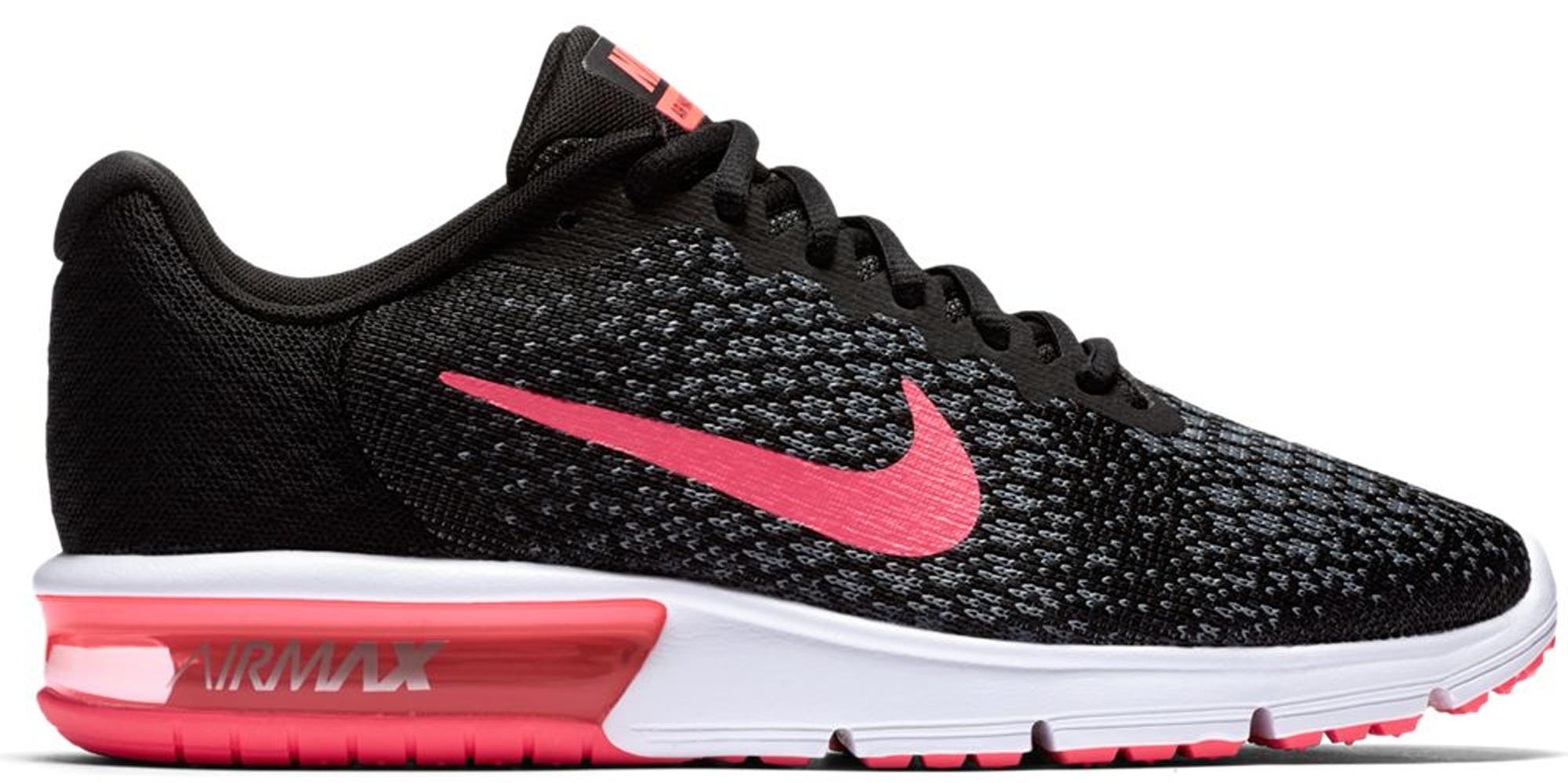 Nike Air Max Sequent 2 Black Vivid Pink