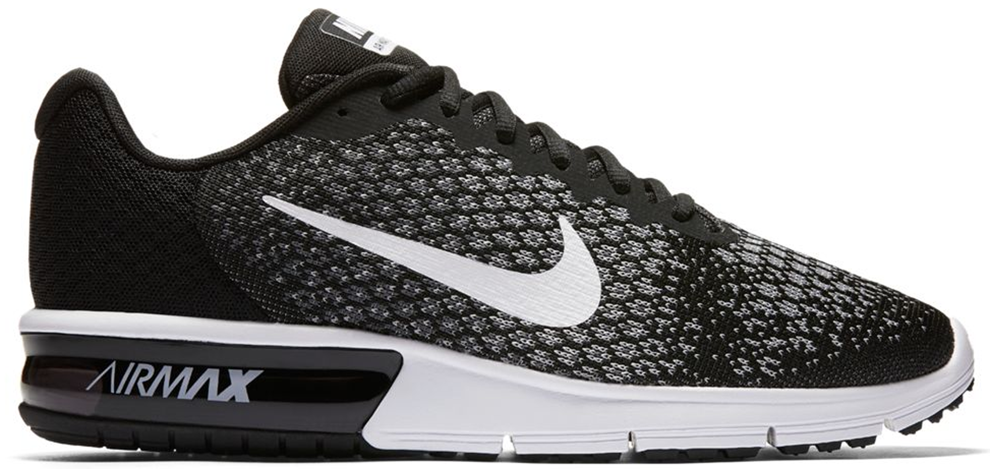 Nike Air Max Sequent 2 Black White