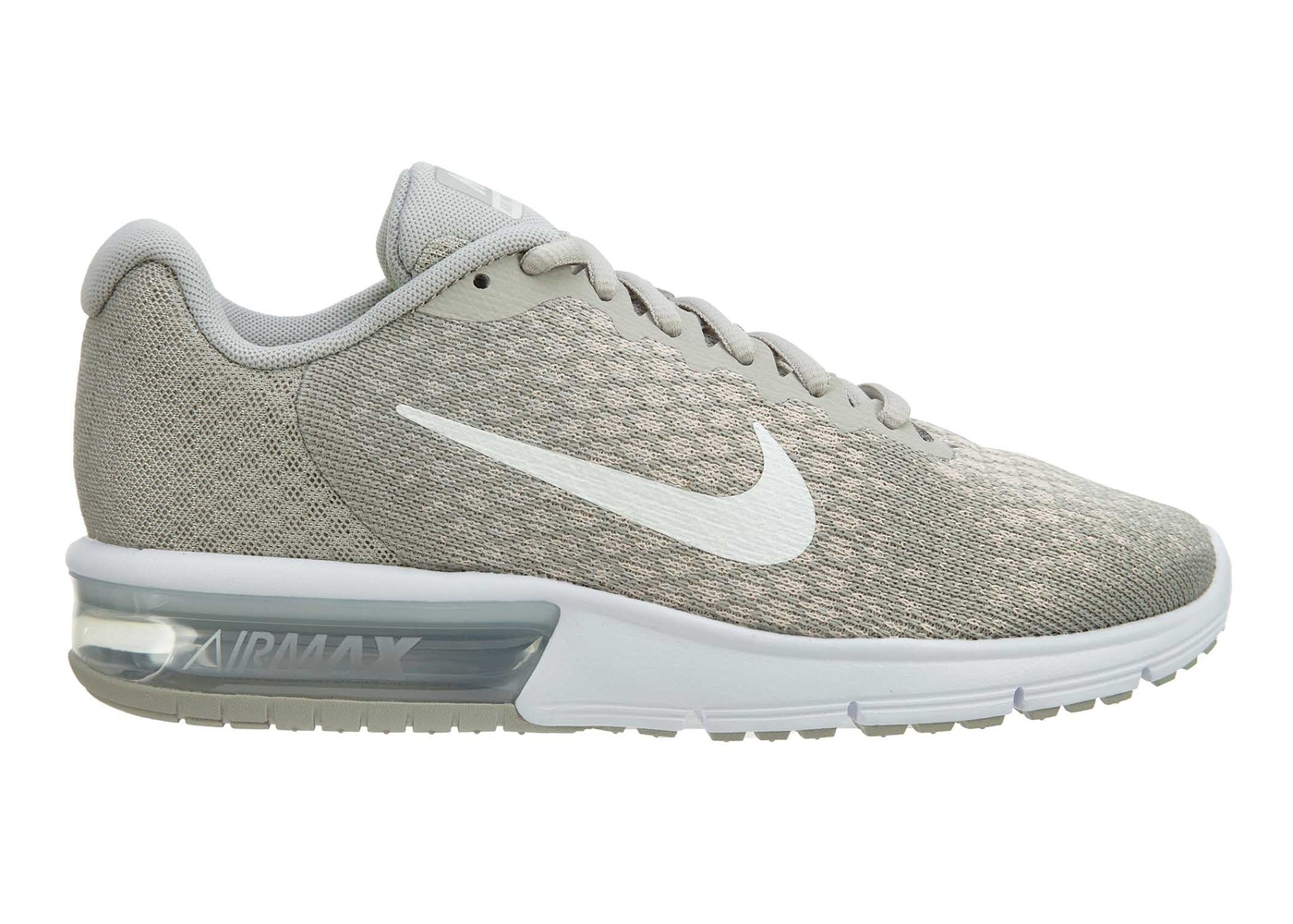 33d2e298a568 Air Max Sequent 2 Pale Grey Sail-Light Bone (W) - 852465-011