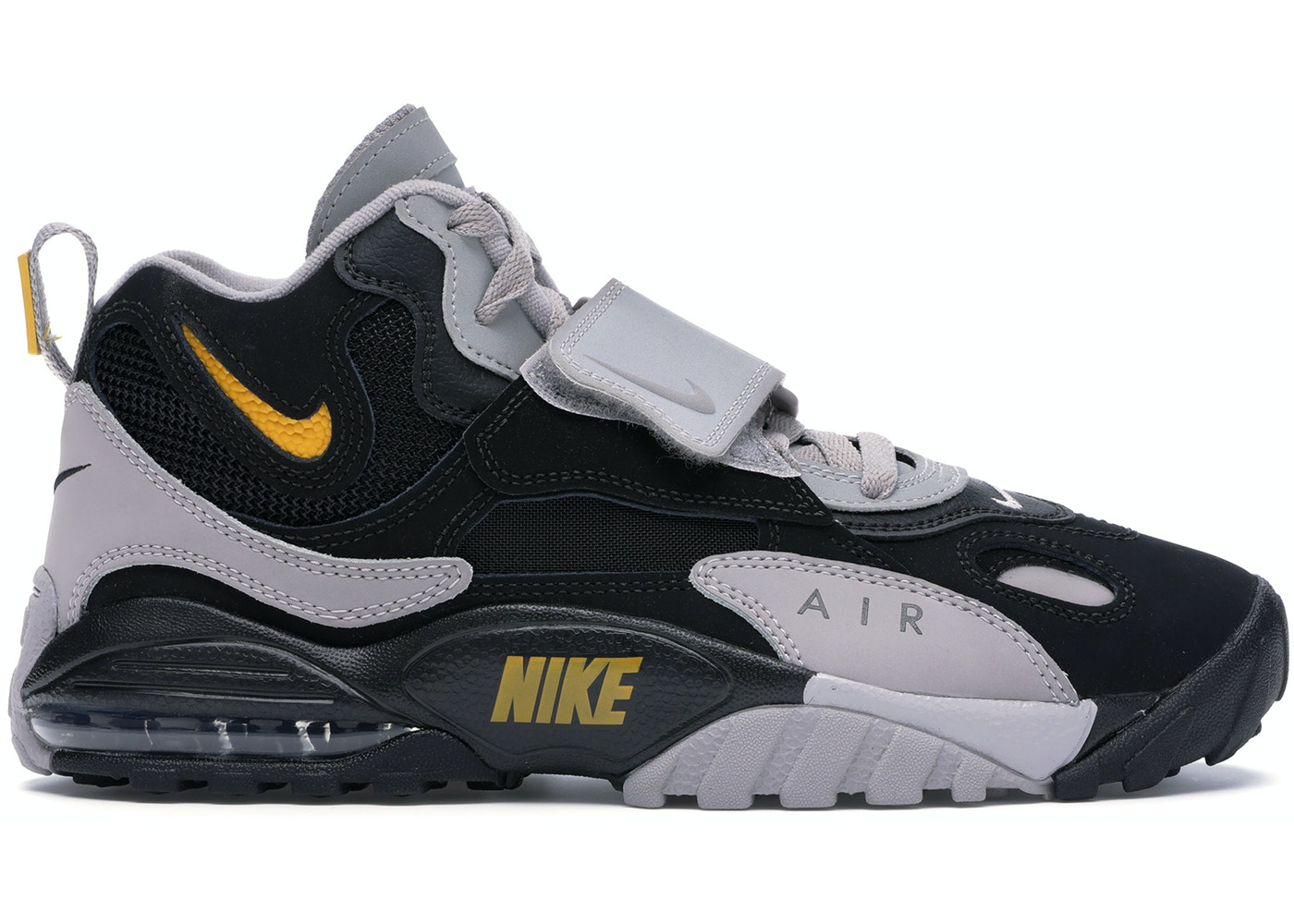 proporcionar Influencia Entrada  Nike Air Max Speed Turf Black Grey Yellow - AV7895-001
