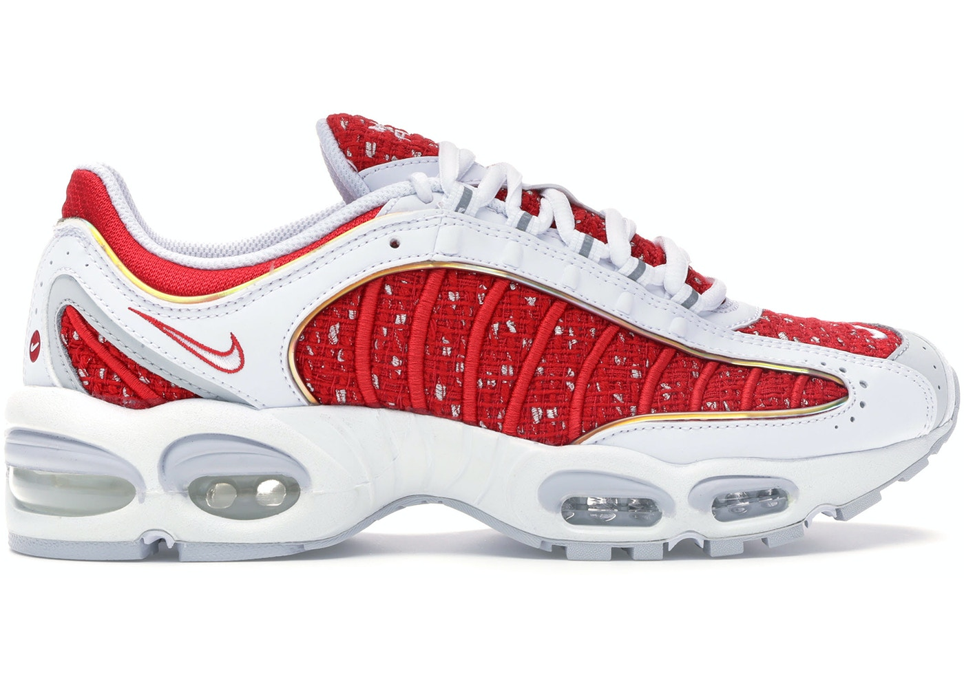 énorme réduction 92fa5 59881 Air Max Tailwind 4 Supreme White