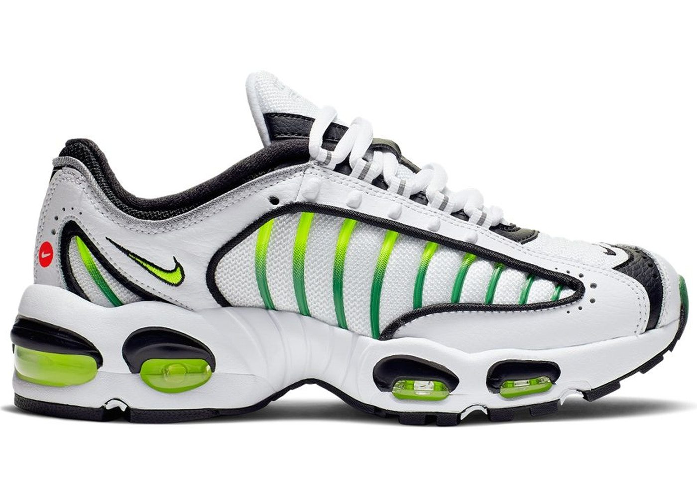 f42aa98c Air Max Tailwind 4 White Volt Black (GS) - BQ9810-100