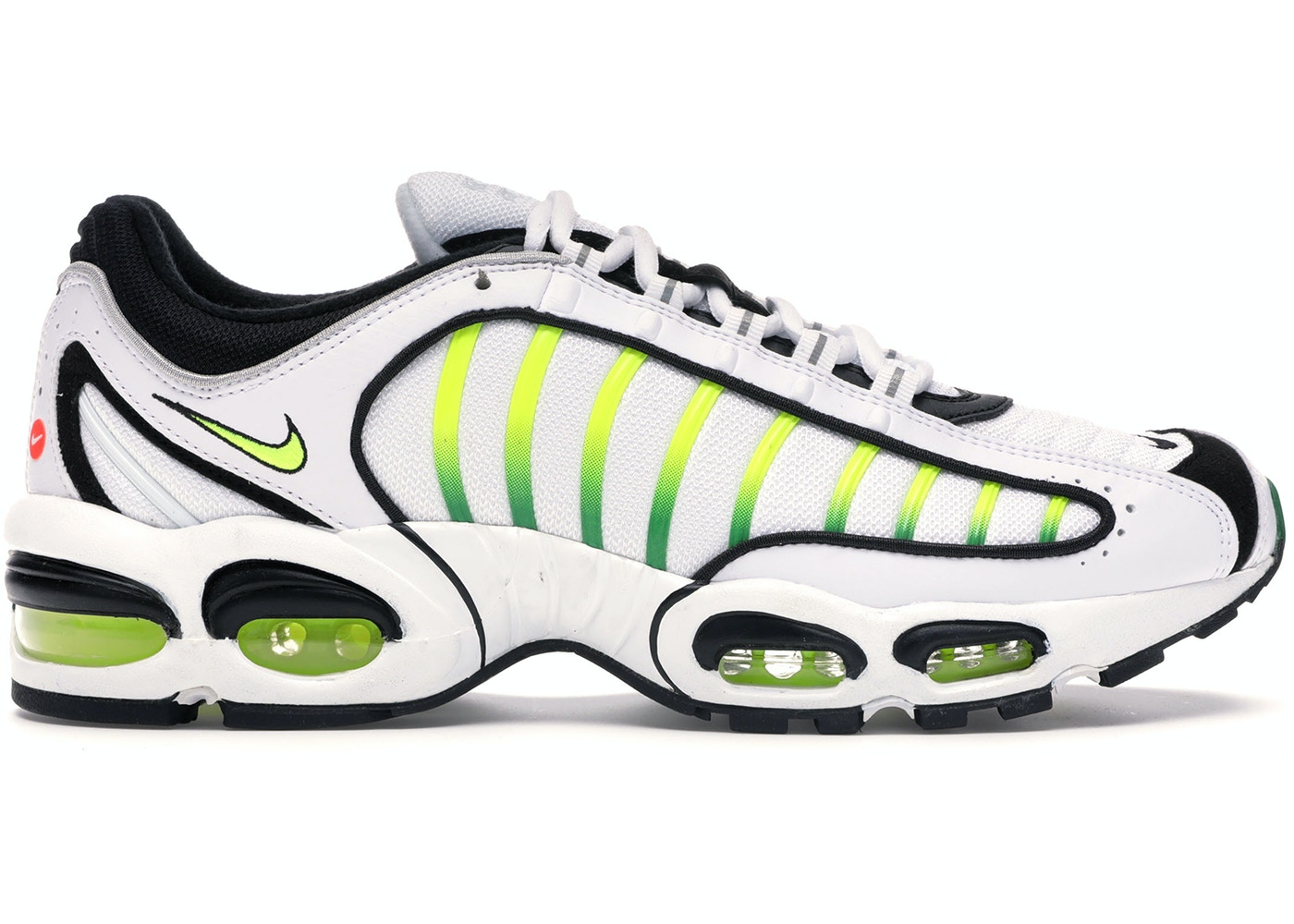 d301000b Air Max Tailwind 4 White Volt Black - AQ2567-100