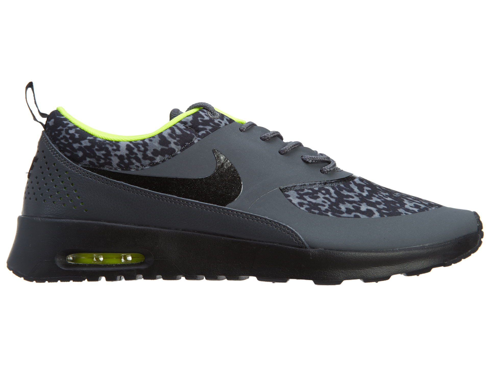 Air Max Thea Print Dark Grey Black Volt (W) 599408 006 im