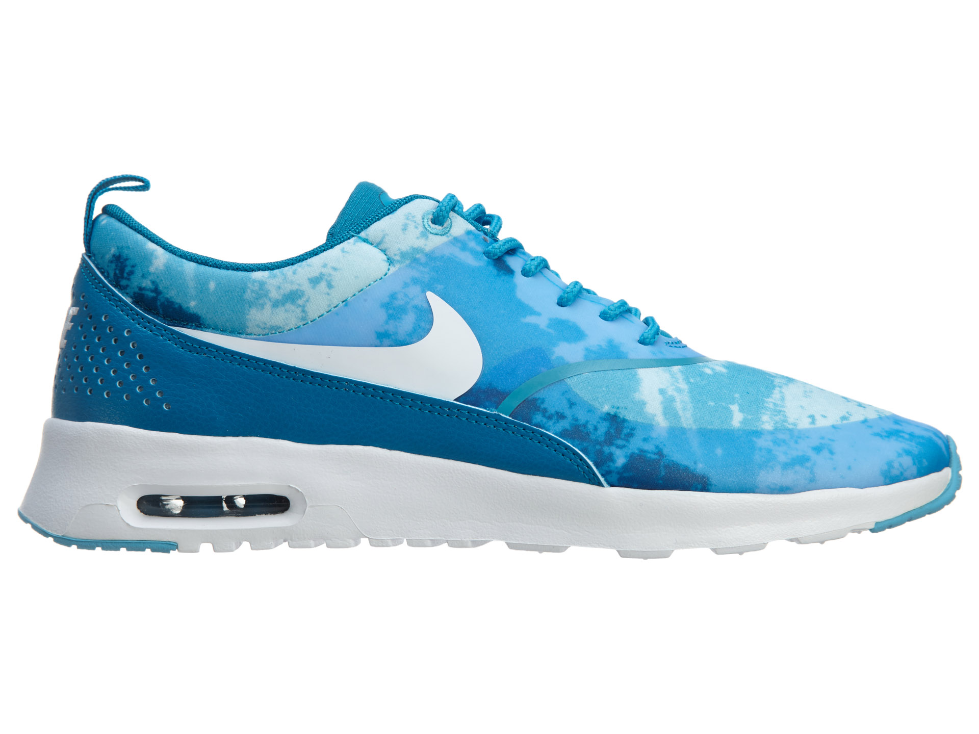 Shoes NIKE Air Max Thea Print 599408 401 Lt Blue LacquerWhiteClrwtr