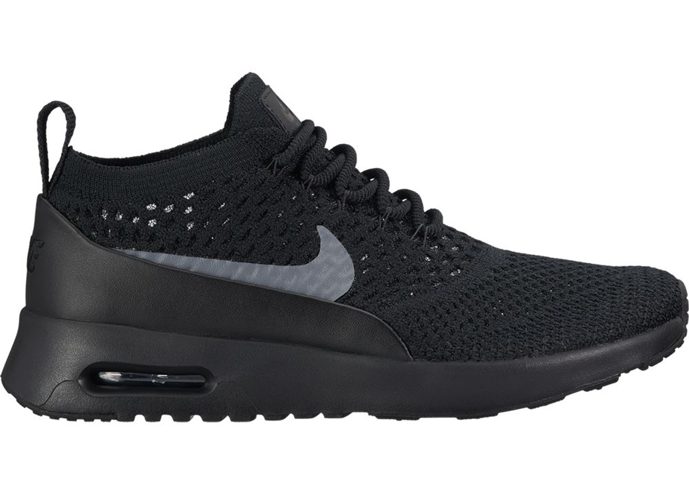 separation shoes c23fd 29e2d Air Max Thea Ultra Flyknit Black Dark Grey (W) - 881175-004