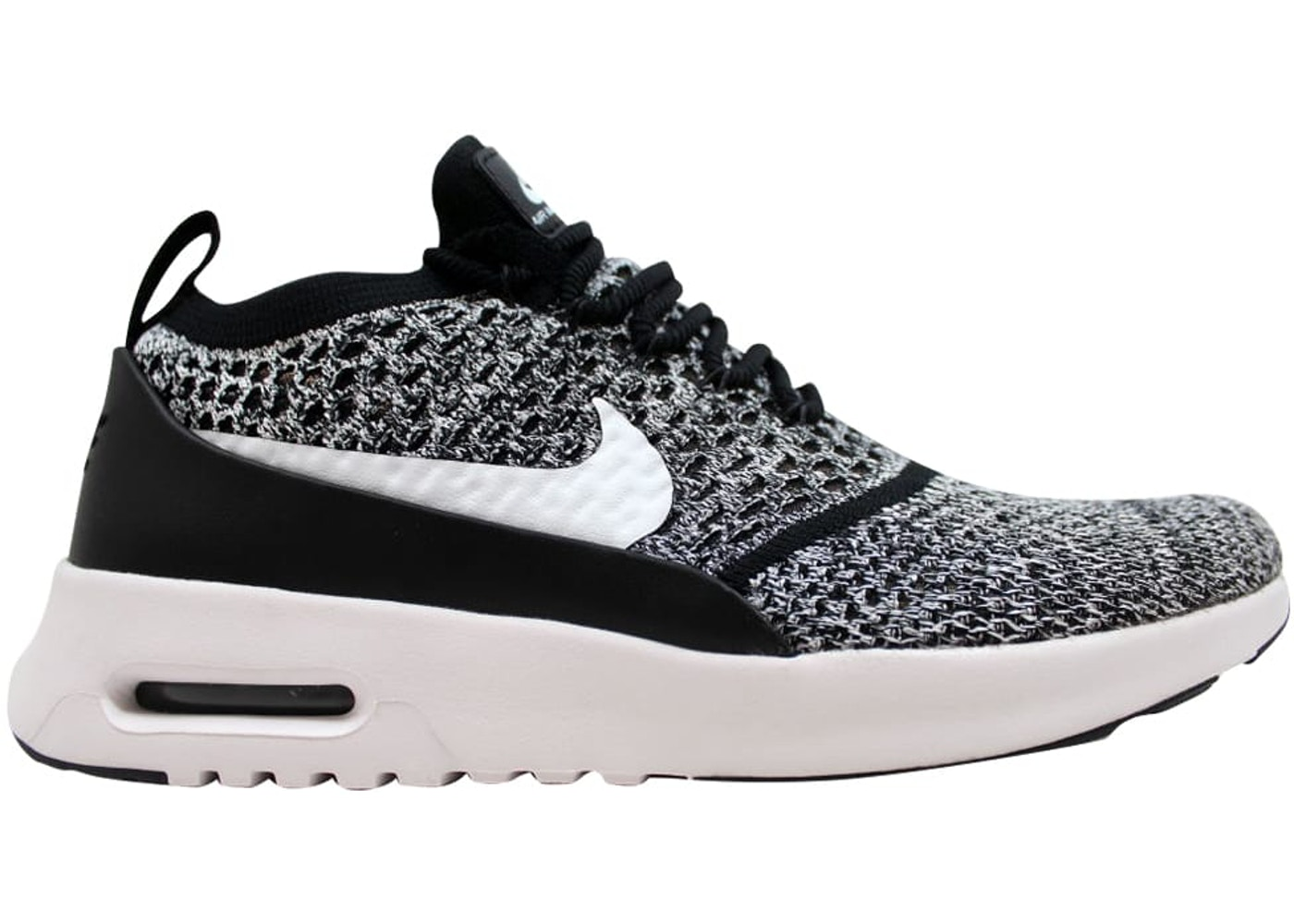finest selection 9730c 848a1 Nike Air Max Thea Ultra Flyknit Black/White (W)