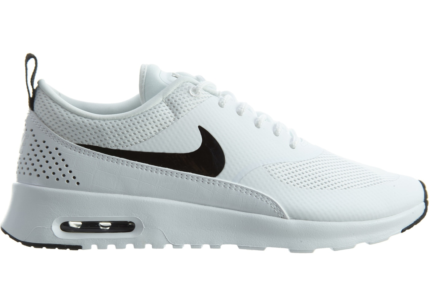 005b9ec20f6883 Air Max Thea White Black (W) - 599409-103