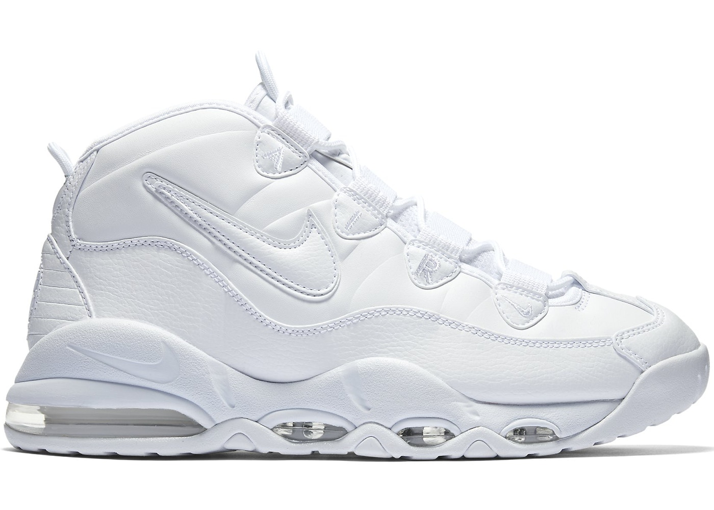 4990b0602c Air Max Uptempo 95 Triple White - 922935-100