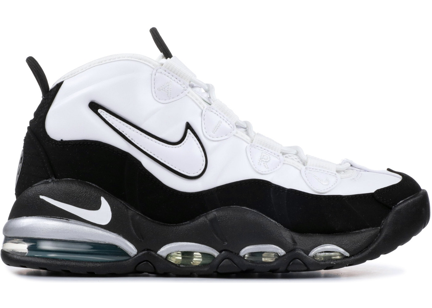 d126a4863d HypeAnalyzer · Air Max Uptempo 95 White Black Teal (2015)