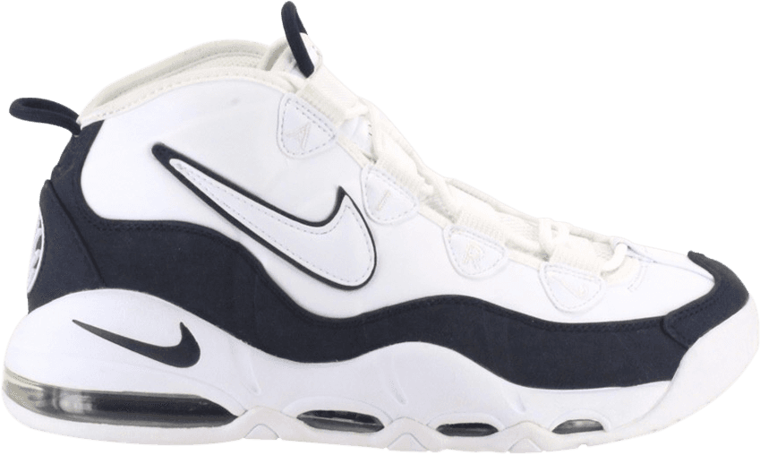 newest 9cd4d eb89d Air Max Uptempo 95 White Obsidian in White/White-Obsidian-Obsidian