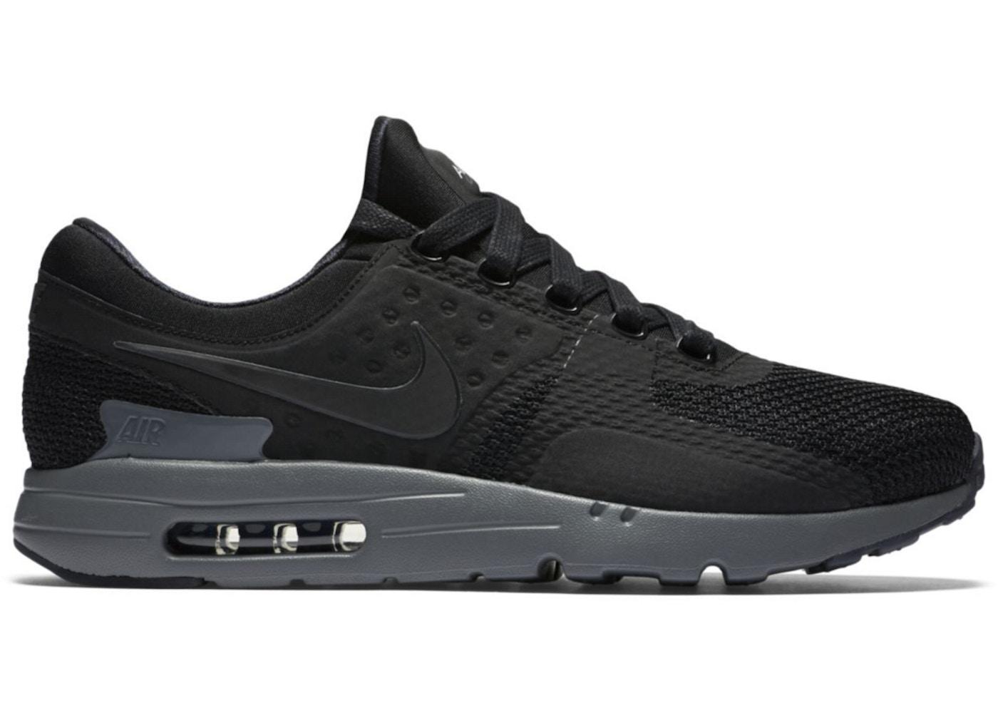 Air Max Zero Nike Air Max Zero Black Dark Grey - 789695-001