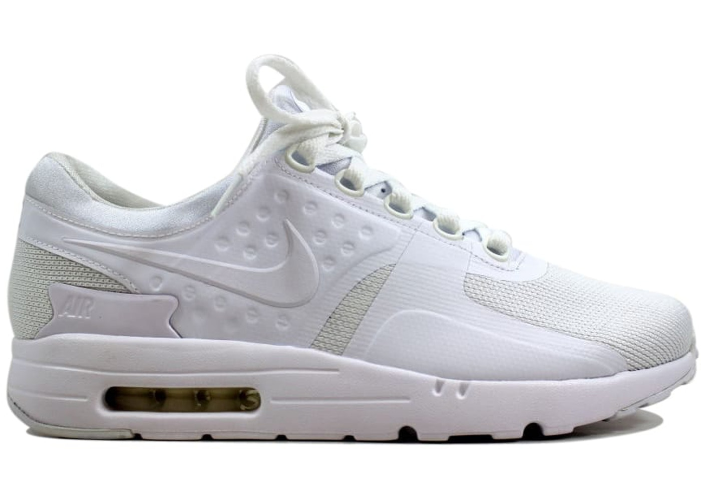 the best attitude cefee bf956 Nike Air Max Zero Essential White/White-Wolf Grey