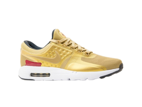 nike air max zero metallic gold