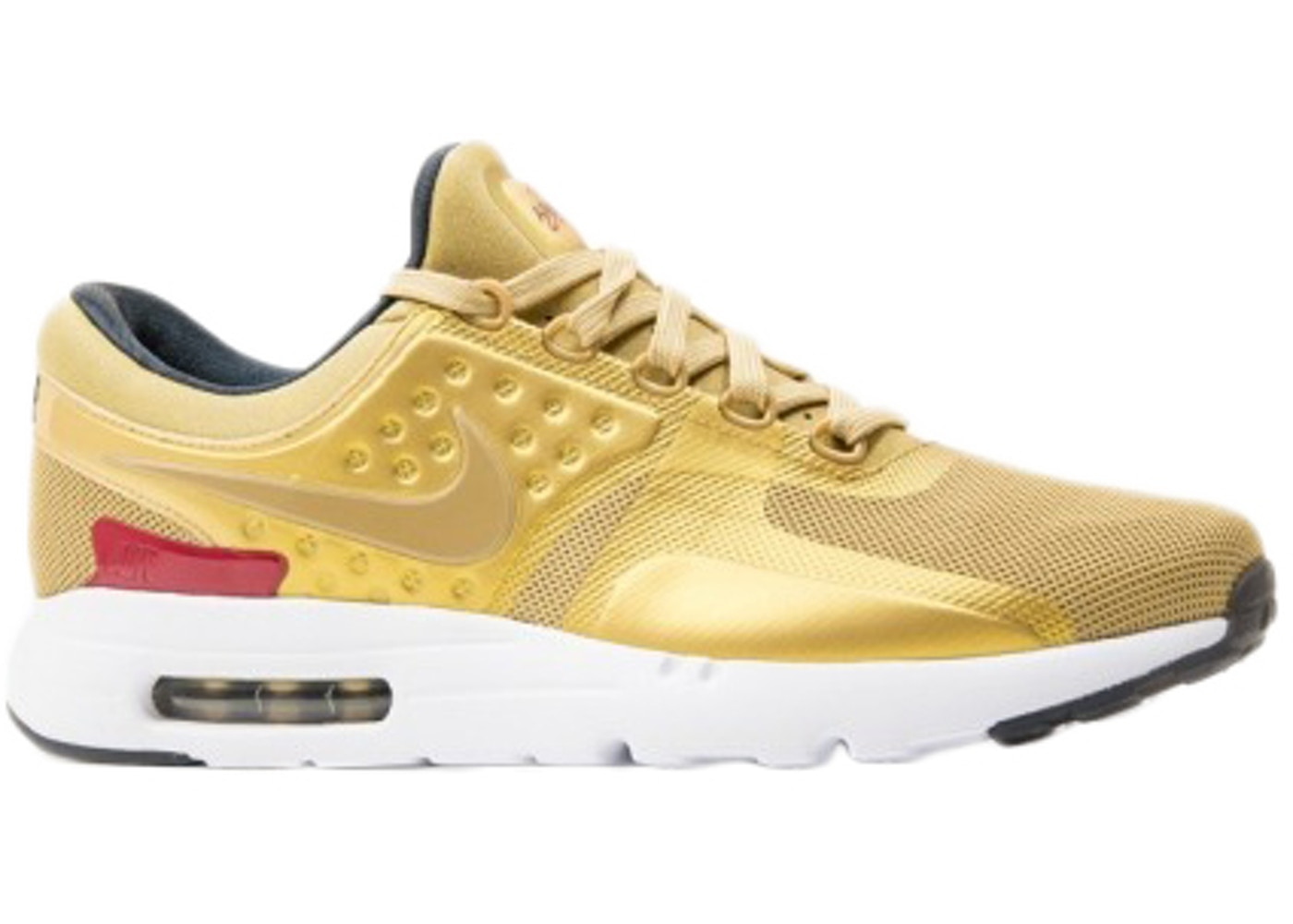 cheap for discount 5f228 1b30e Air Max Zero Metallic Gold (W) - 863700-700