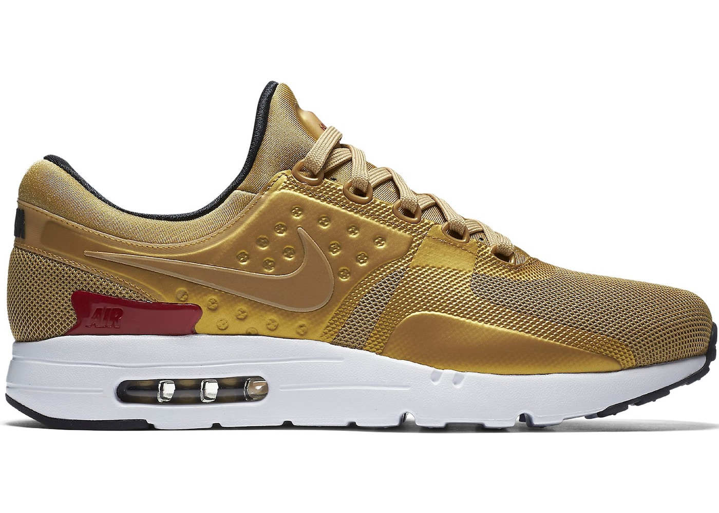 quality design 5a0e5 af486 Sell. or Ask. Size  12. View All Bids. Air Max Zero Metallic Gold