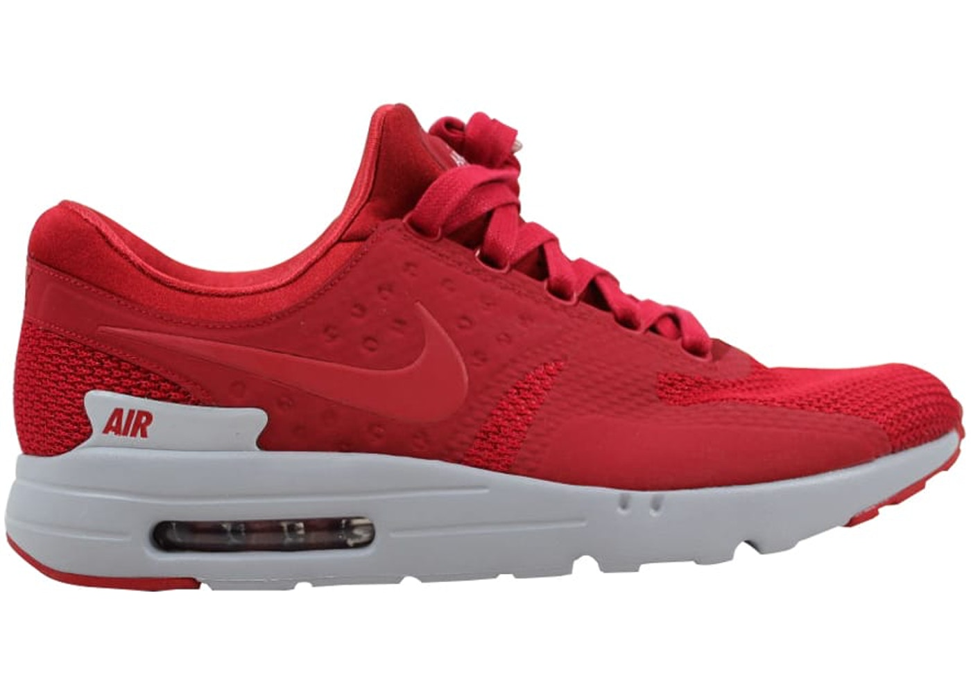 reputable site cf23e 99ac9 Nike Air Max Zero Premium Gym Red/Gym Red-Wolf Grey