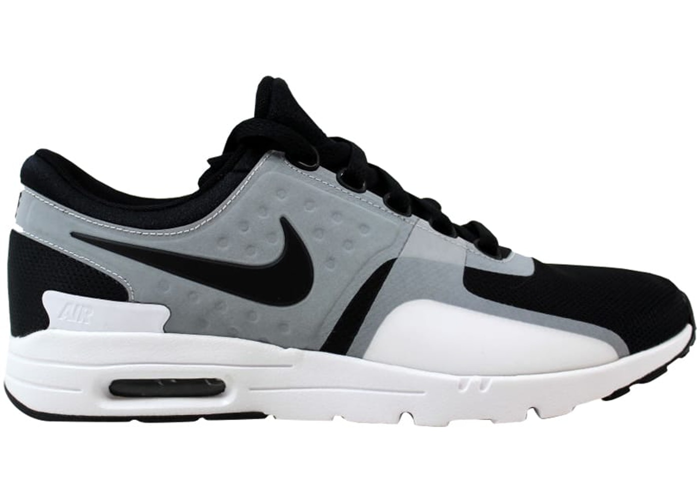 huge selection of 4ab63 5f20f Nike Air Max Zero White/Black (W)