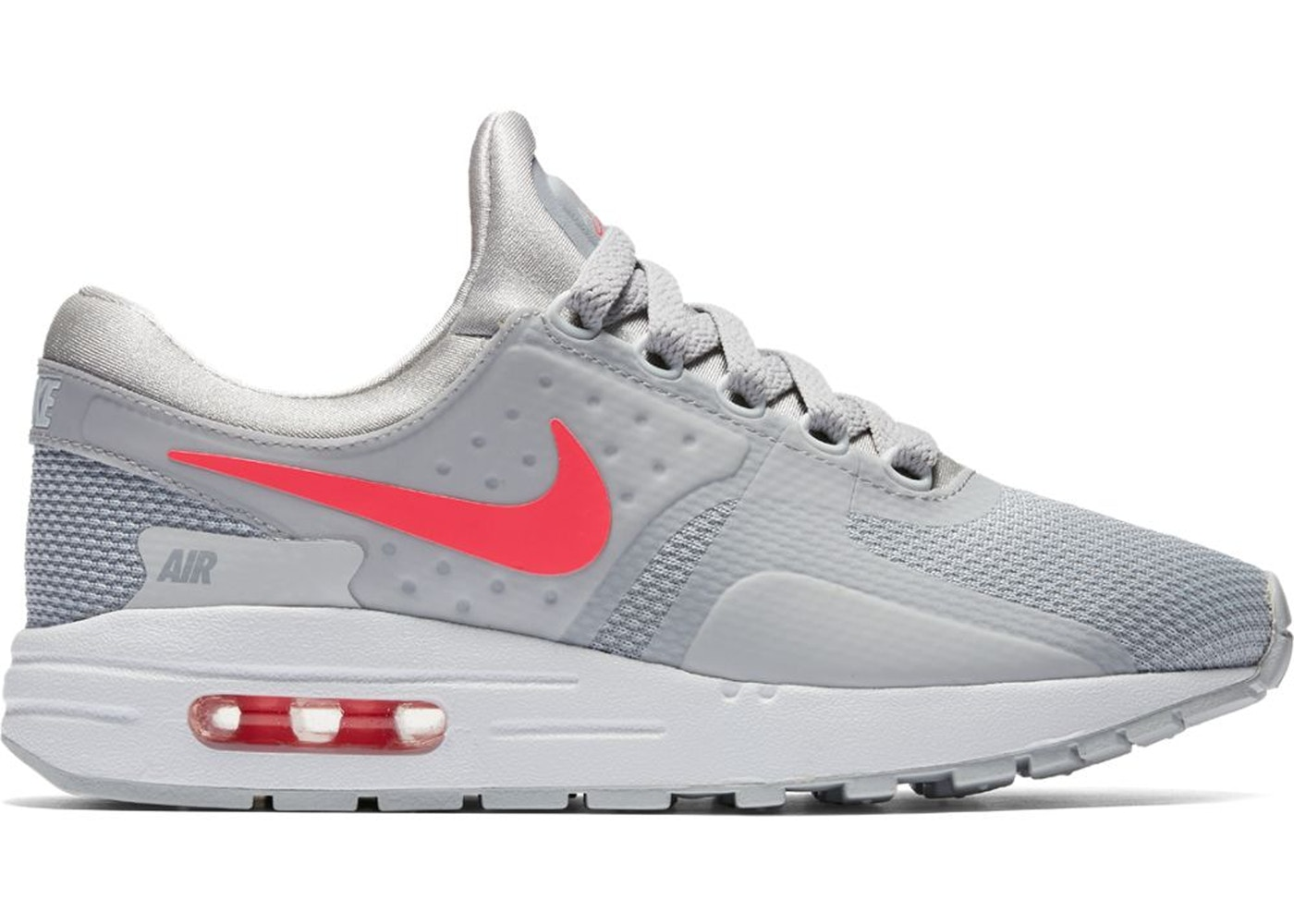 premium selection cee29 5e0d2 Air Max Zero Wolf Grey Racer Pink (GS) - 881229-003