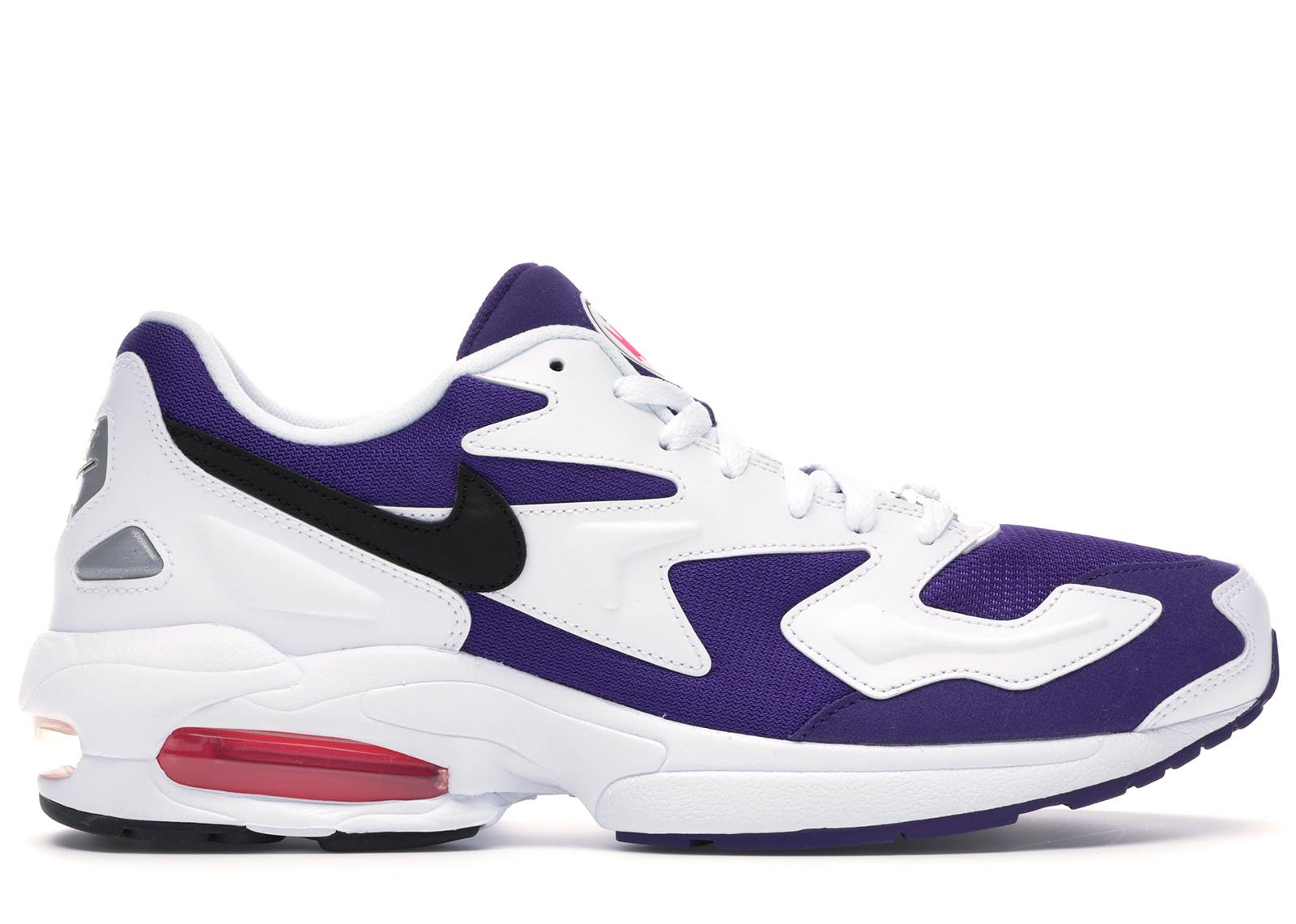 Nike Air Max2 Light White Purple Pink