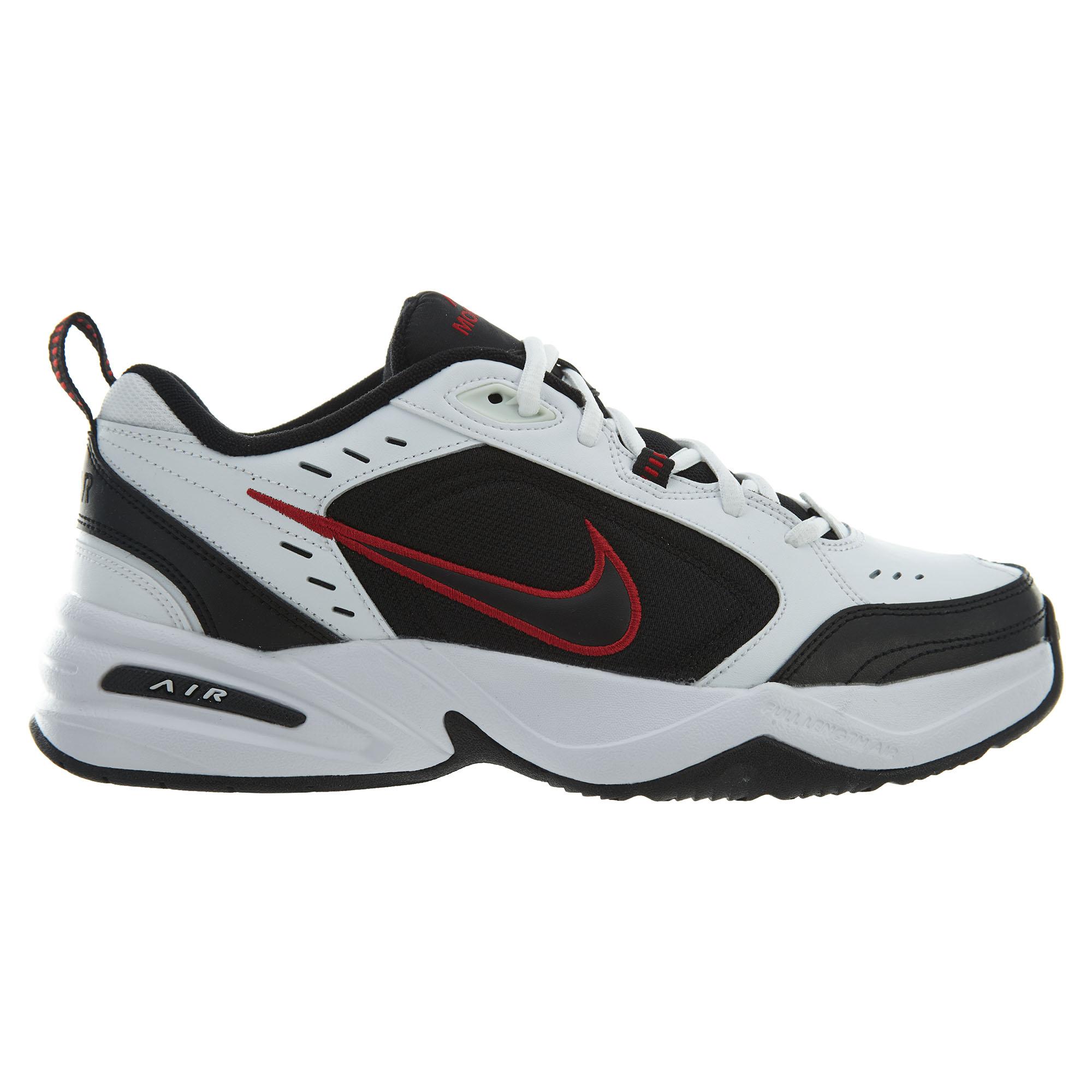 Nike Air Monarch Iv 415445 White/Black Varsity Red 415445 101