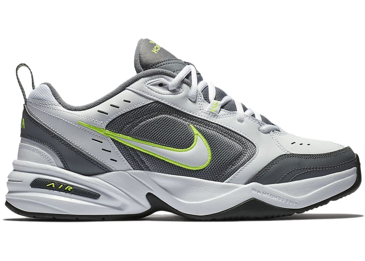 96088ea26a4 Nike Air Monarch IV White Cool Grey Anthracite White - 415445-100