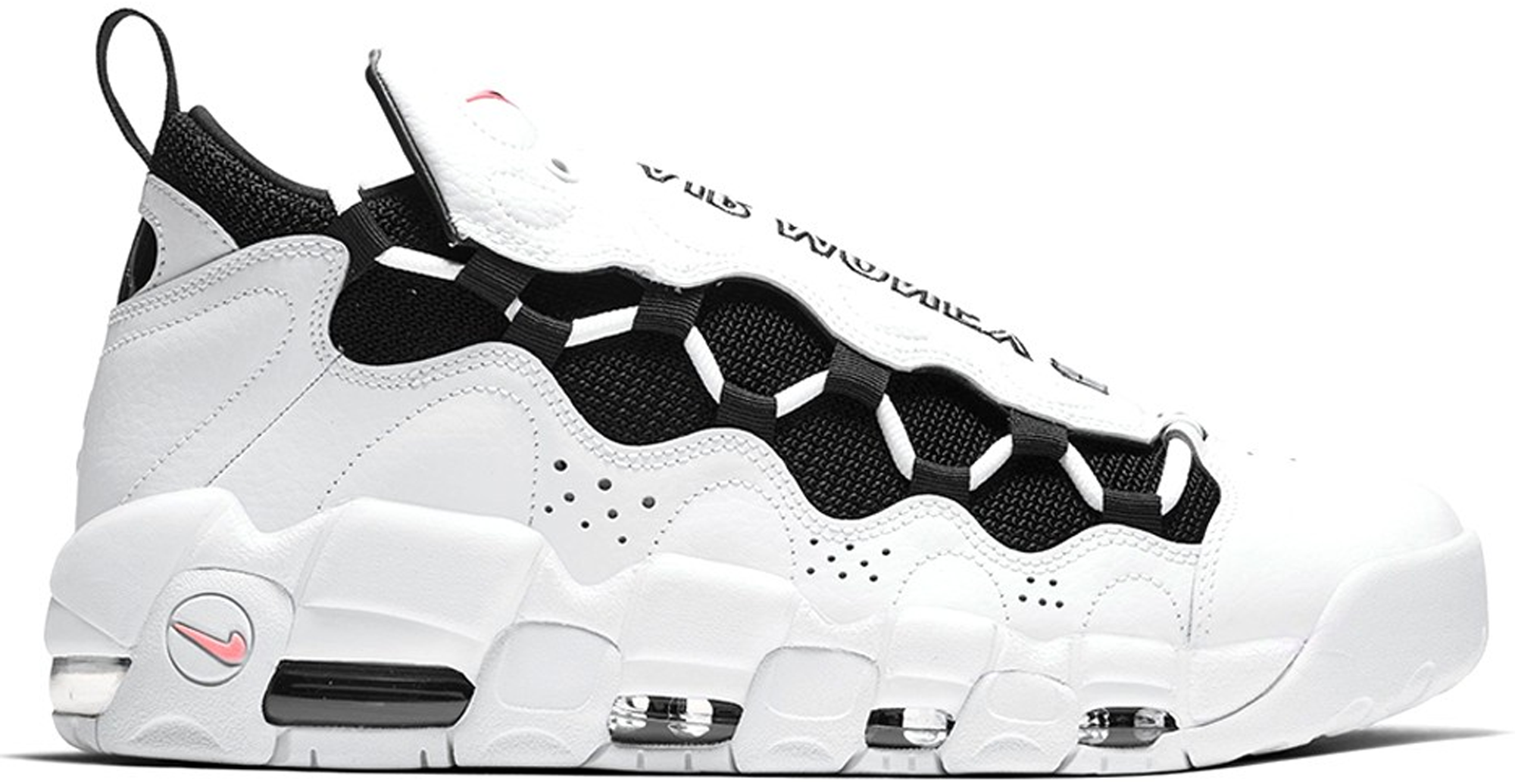 Nike Air More Money White Black Coral