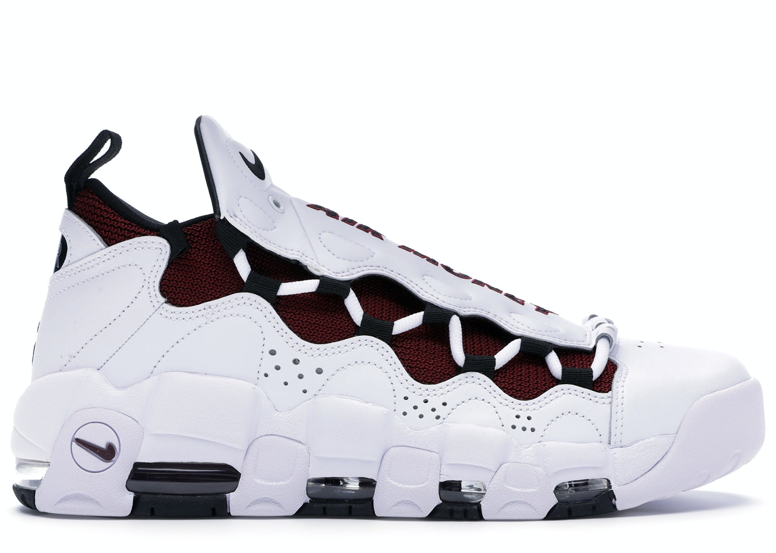 Air More Money White Black Team Red